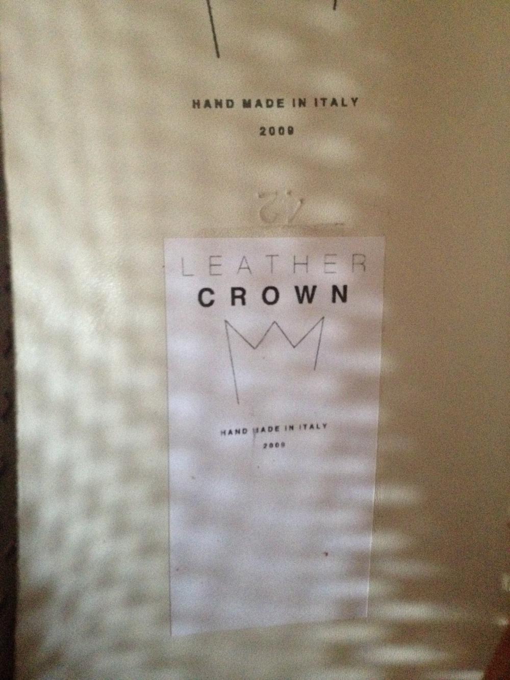 Кеды, Leather Crown, 42 EU