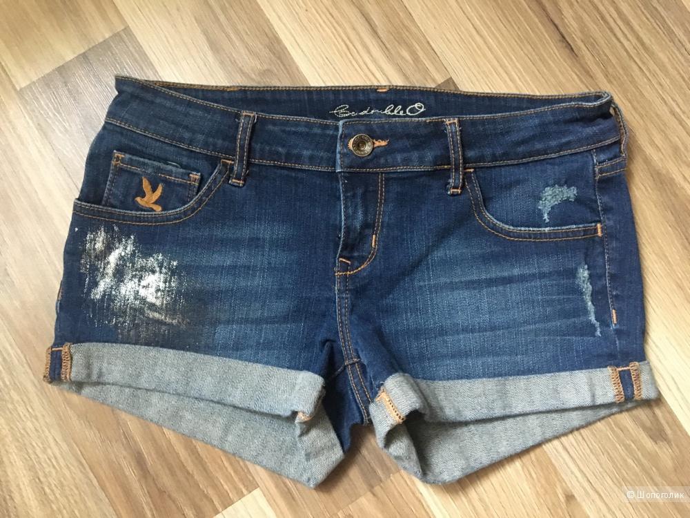 Джинсовые шорты размер 27