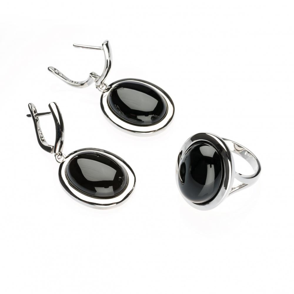 Кольцо и серьги ZrO2 jewells
