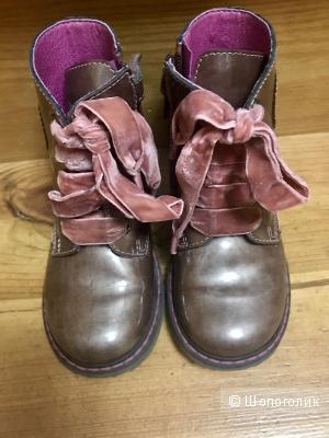 Ботинки на девочку 26 размера Pablosky