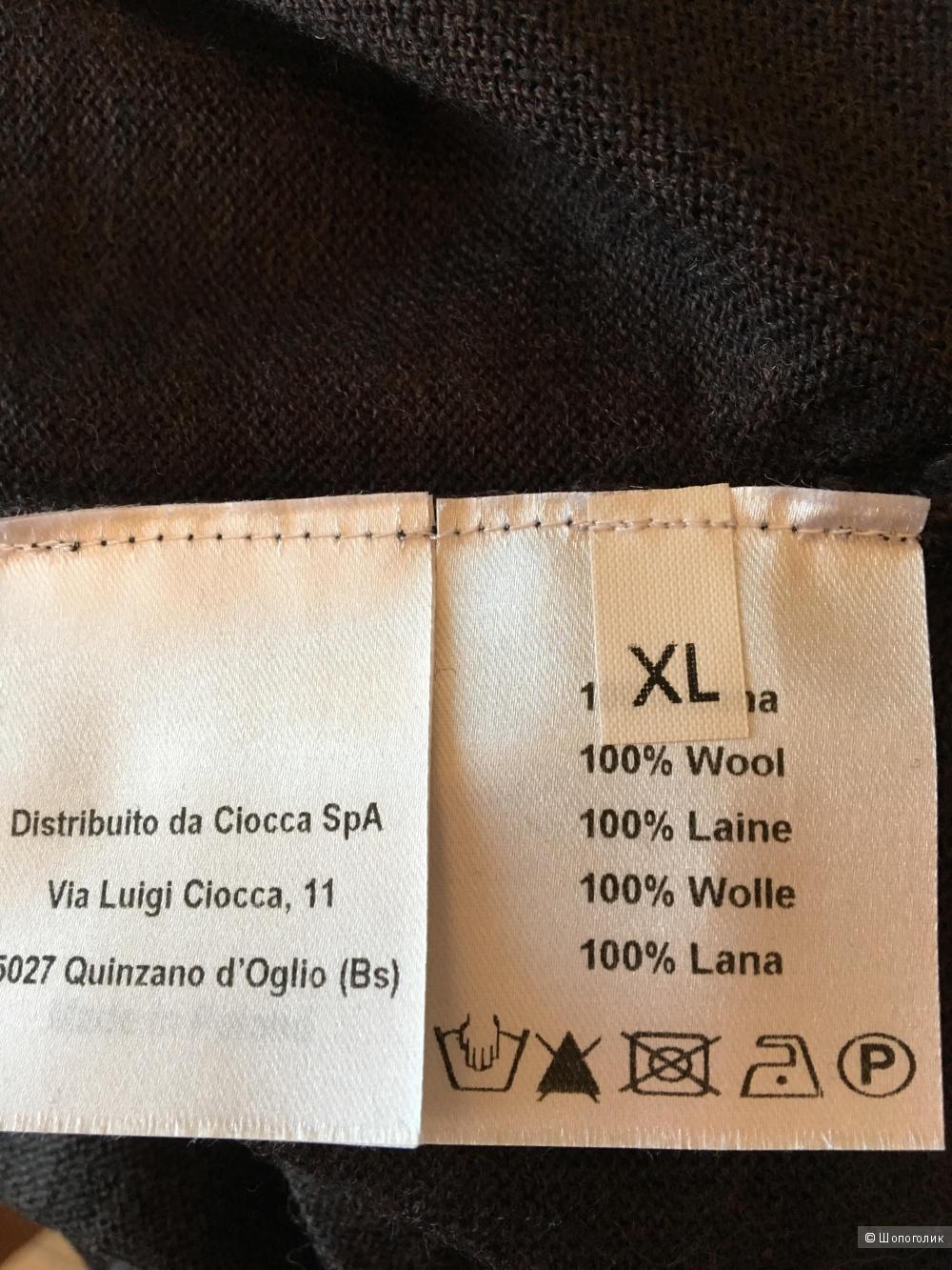 Шерстяной джемпер Rossopuro, размер XL