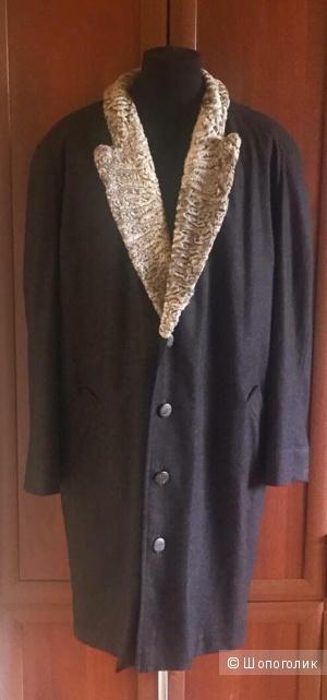 Меxoвoe пальто большого размера, Кapaкуль SWАKАRA, Германия, р-р (60/62)