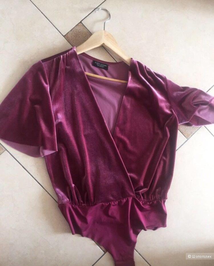 Блуза- боди Zara 42-44