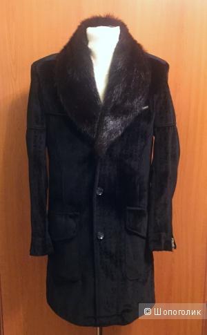 Дизайнерское меxoвoе пальто,  Германия, р-p L