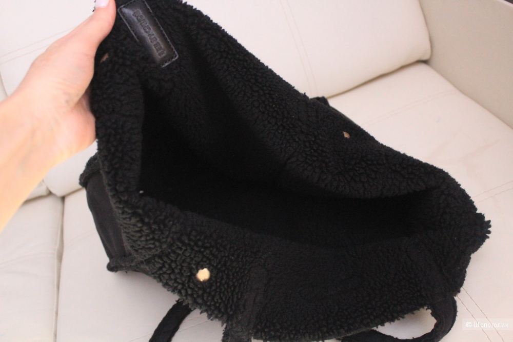Замшевая сумка see by Chloe