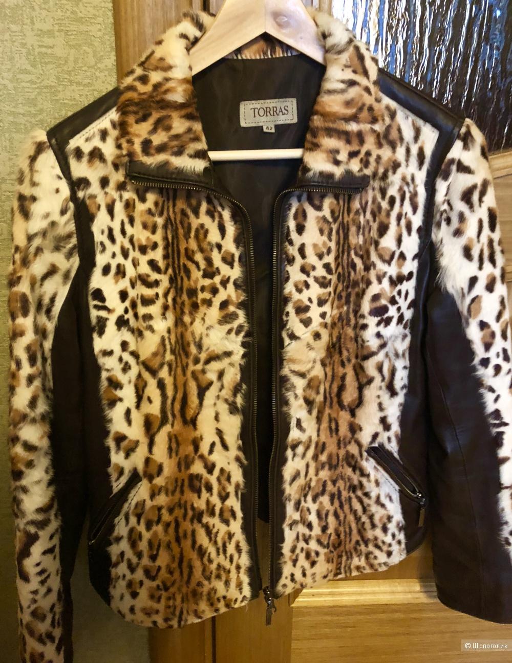 Кожаная куртка Torras размер 44