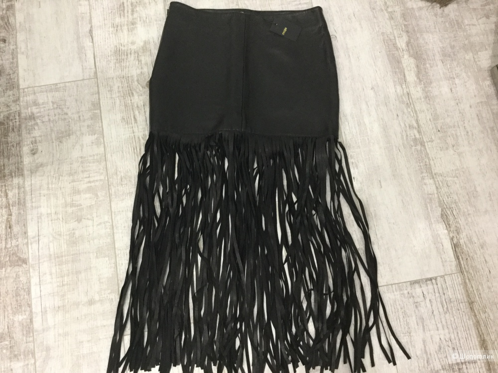Кожаная юбка Maje размер 40-42 размер