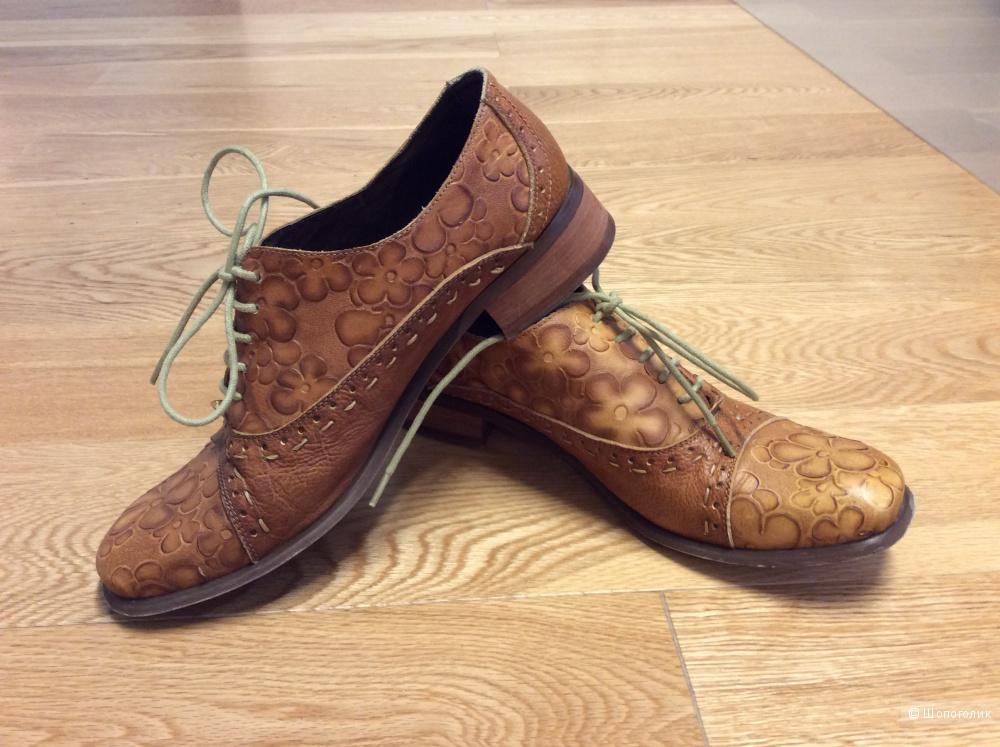 Туфли-ботинки Elche р.39 (на 39-40)