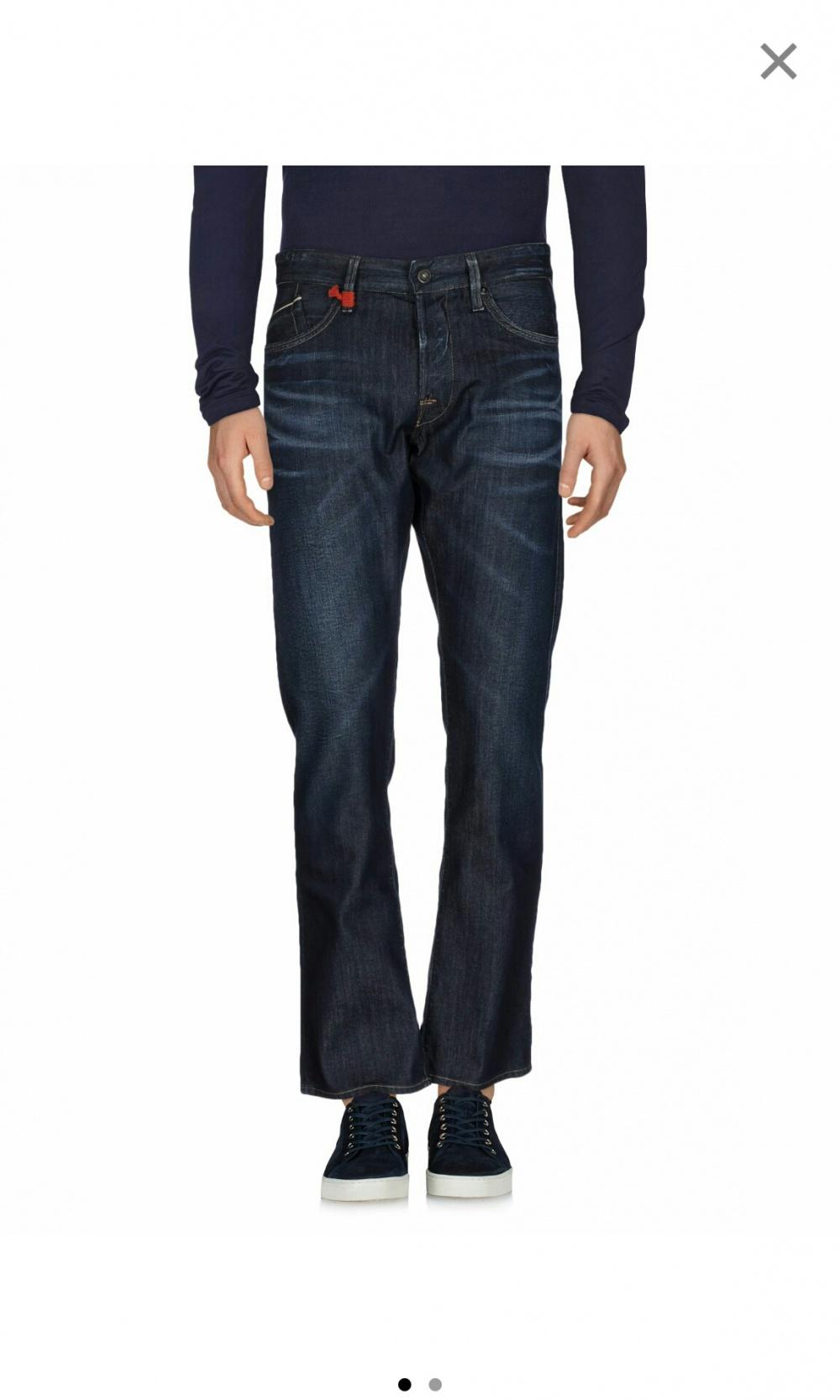 Джинсовые брюки Replay, размер 33W-32L.
