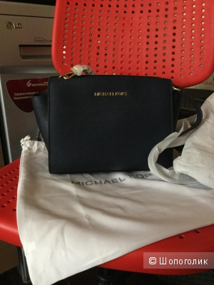 Сумка Michael Kors Selma Medium Leather Crossbody