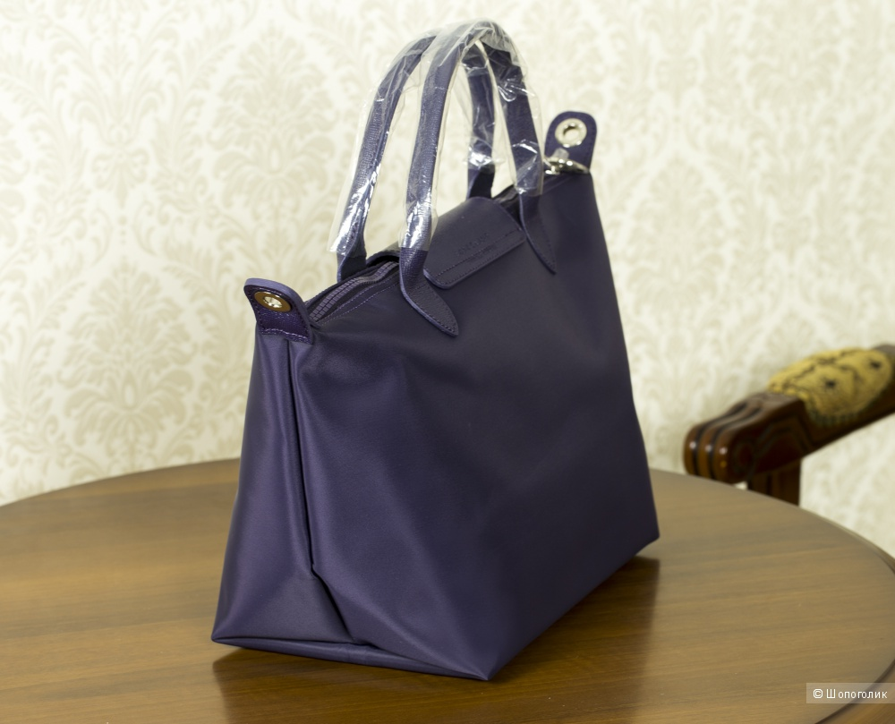 Сумка женская - Longchamp Le Pliage Purple, medium.