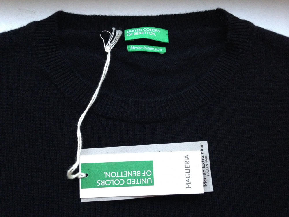 "Джемпер "" Benetton"", 48-50 размер"