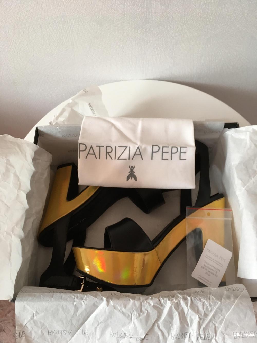 Босоножки Patrizia Pepe, 39 размер