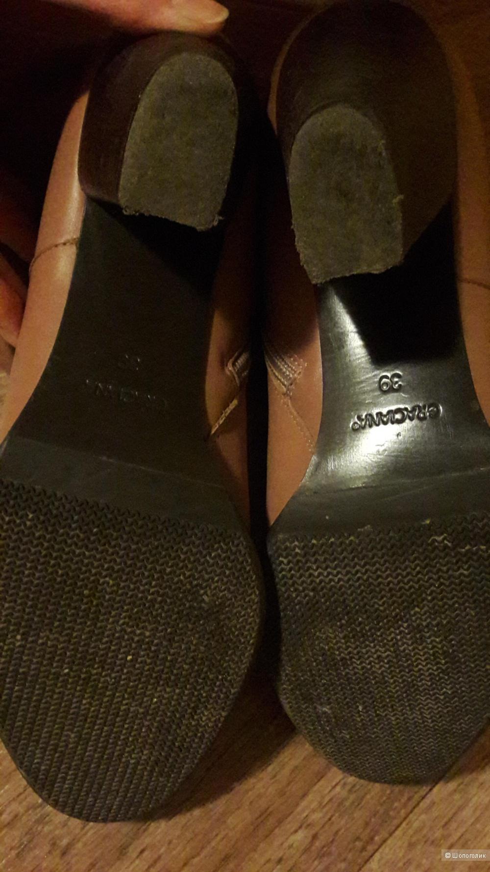Сапоги graciana 39 размер