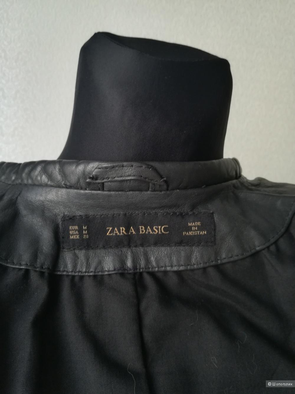 Кожаная куртка Zara ,размер S