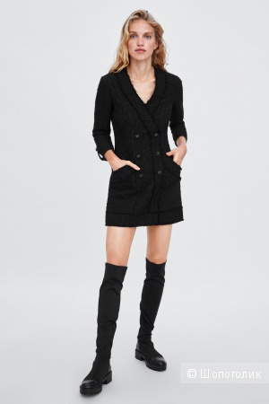 Платье пиджак ZARA размер S