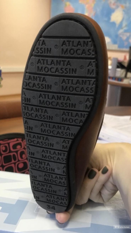 Мокасины Atlanta 34 размер