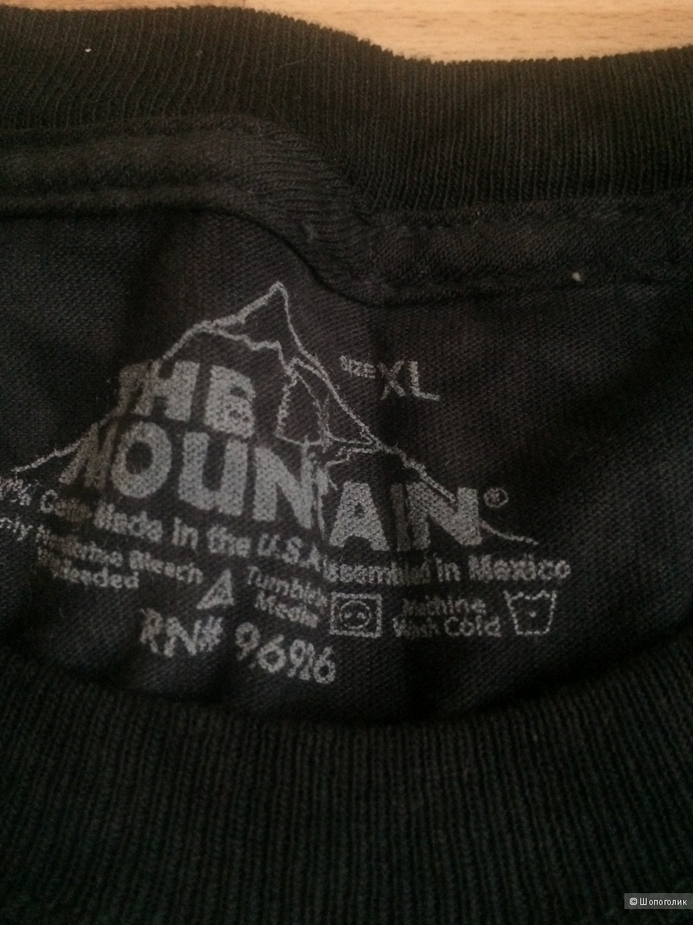 Футболка The Mountain, размер XL
