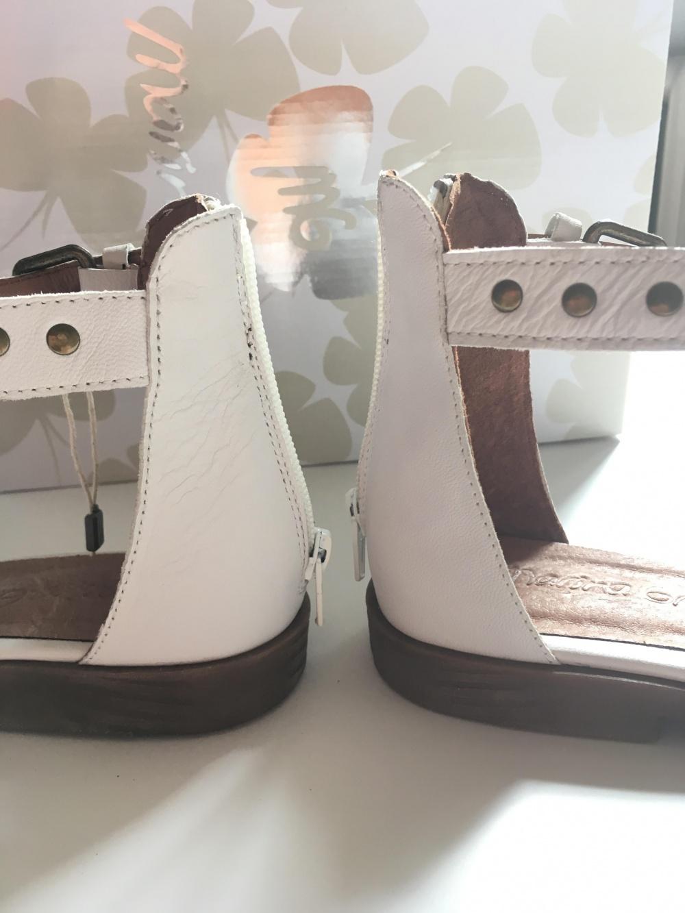 Кожаные сандалии MARINA GREY, размер 37