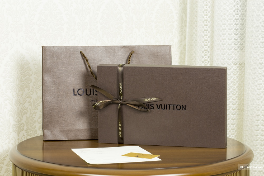 Шаль/платок Louis Vuitton, denim, 140*140 см.