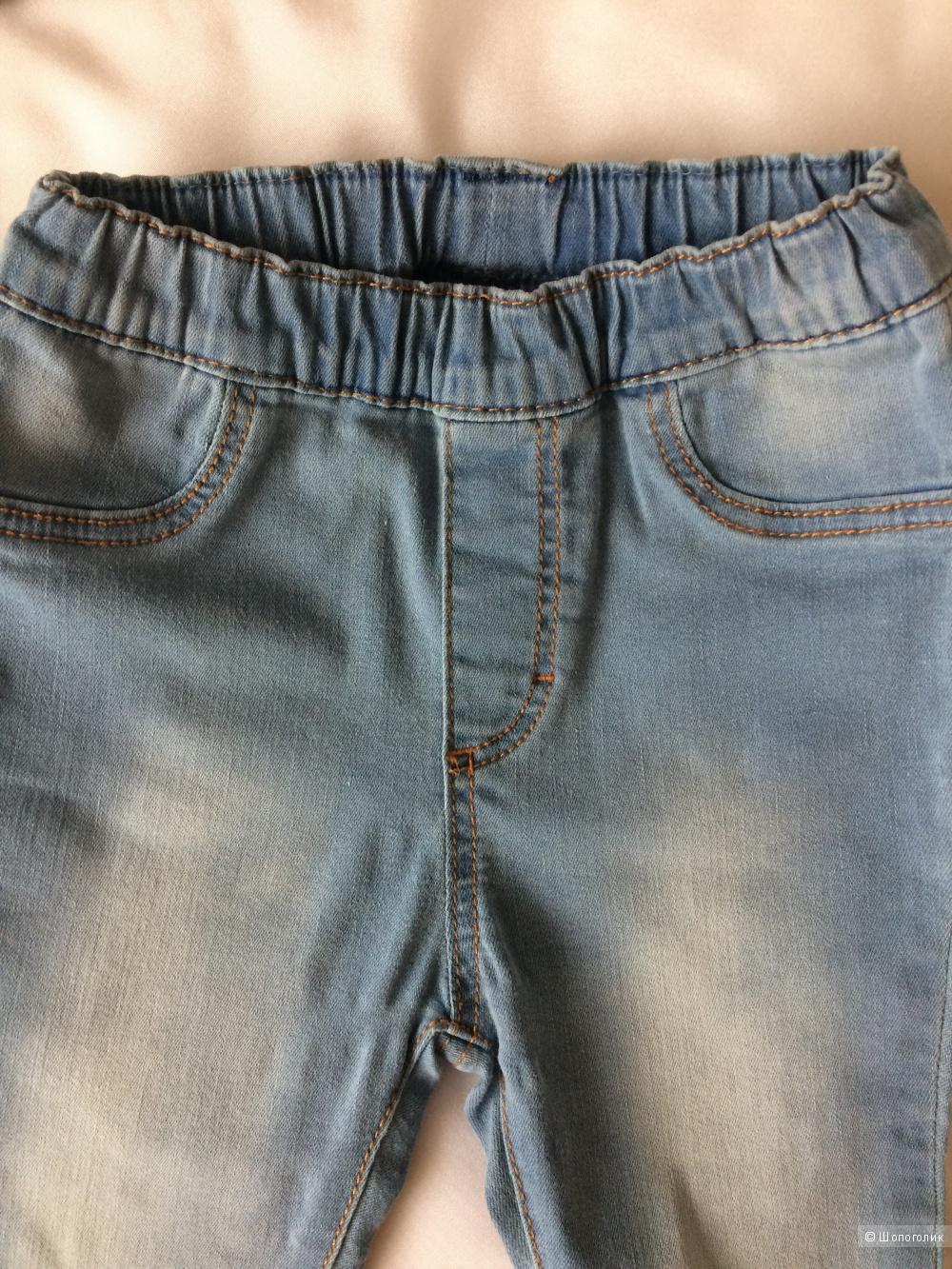 Сет: лонг Mayoral+джинсы HM, р.86см