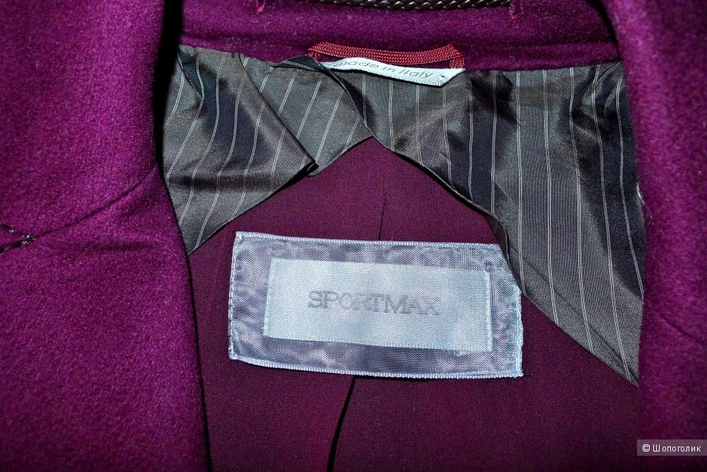 Пальто Sportmax MAX MARA размер IT40