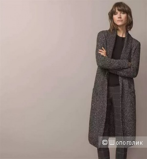 Вязаное пальто (кардиган) Massimo Dutti, размер XS