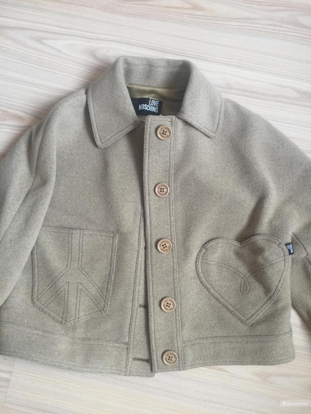 Куртка женская Love Moschino, размер 46