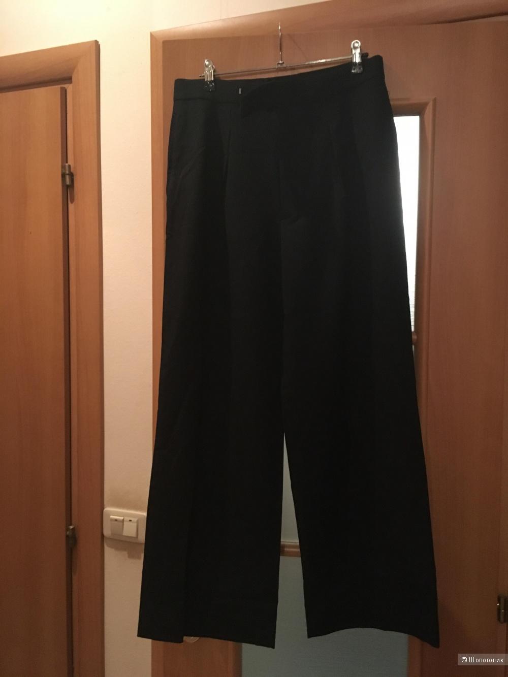 Черные шерстяные брюки POLO RALPH LAUREN, р. 6 (46-48)