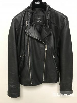 Кожаная куртка Basic Idea, размер XL