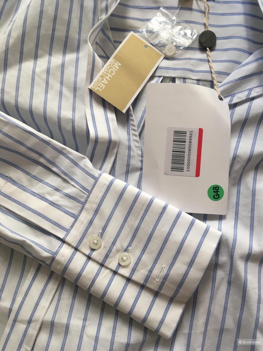 Хлопковая блузка от MICHAEL MICHAEL KORS, размер S