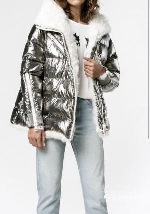 Куртка MONCLER с мехом, размер 42-52