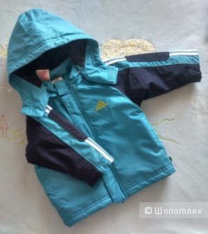 Детская утепленная куртка ADIDAS размер 74