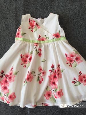 Платье Gulliver, 74-80см.