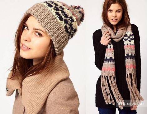Комплект шапка + шарф Warehouse