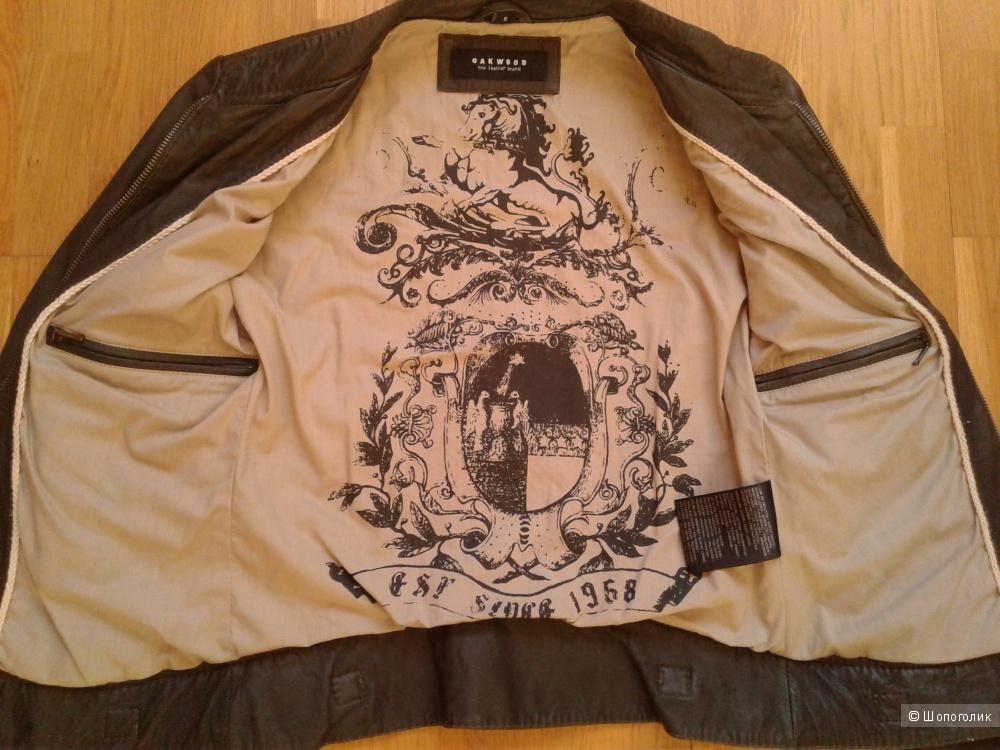 Кожаная куртка Oakwood, размер XS-S