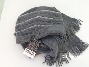 Комплект  шапка вязаная  и шарф FABRETTI,размер М