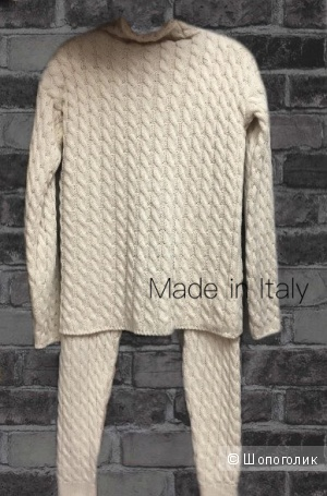 Костюм вязаный STYLE IN ITALY, one size