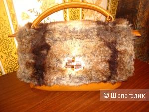 Сумка Wild cat, размер 30x19 см.