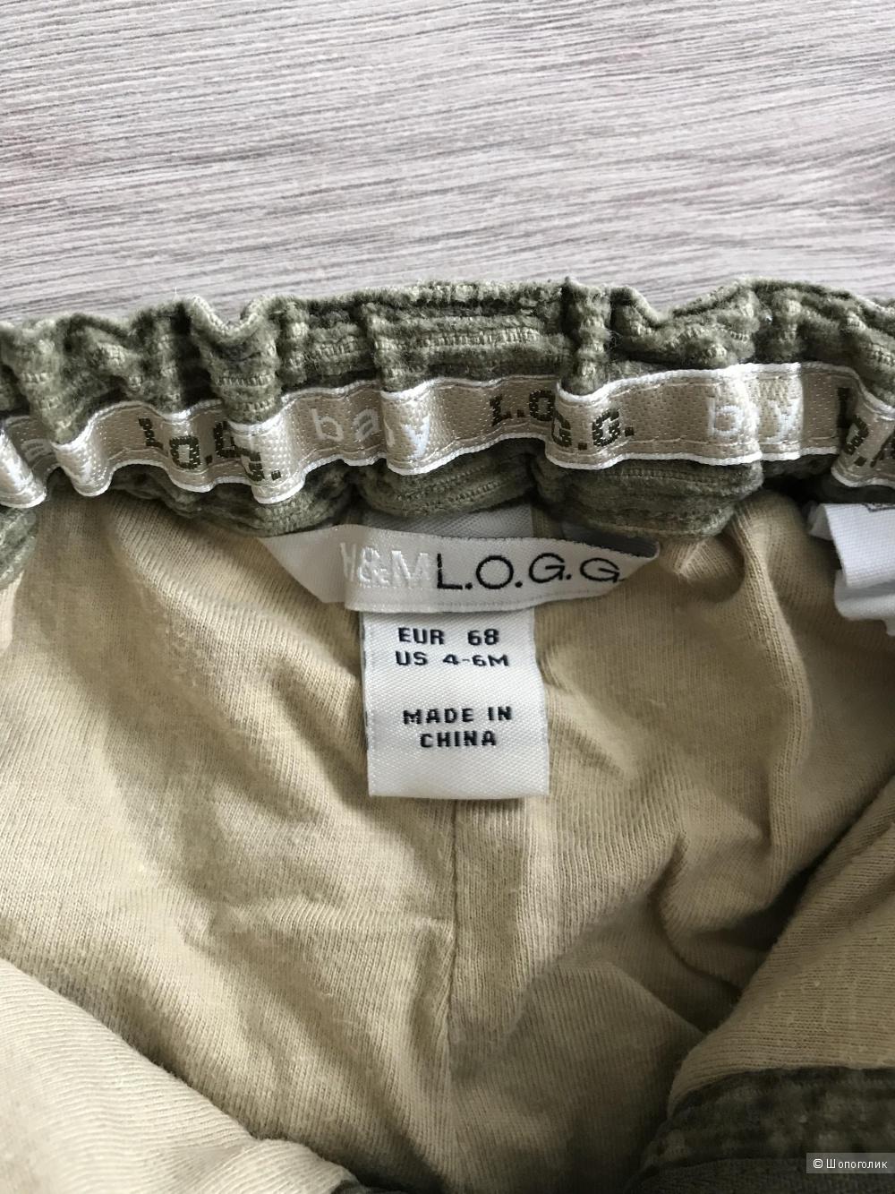 Брючки Logg by H&M р-р 68 (4-6 мес)