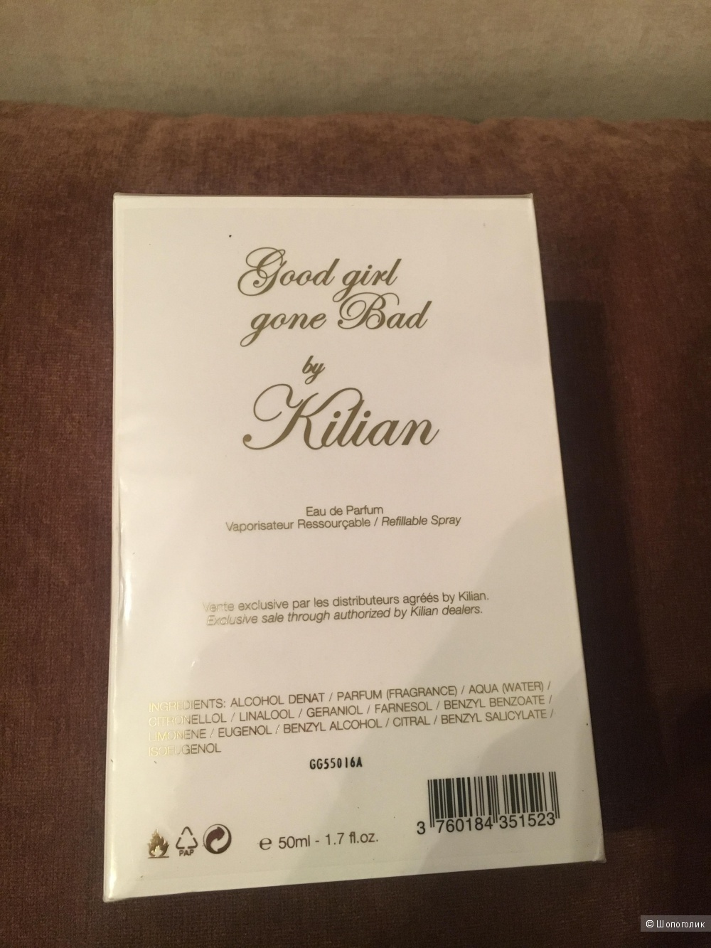 Духи Kilian Good Girl Gone Bad объём 50ml.