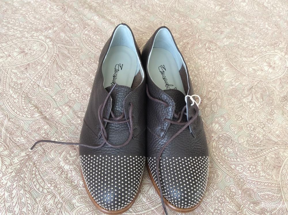 b5c7b6006 Туфли Emanuela Passeri, размер 38, в магазине YOOX — на Шопоголик