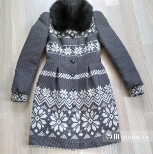 Пальто Ekaterina Smolina размер 42