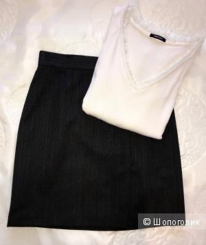 Сет: юбка DKNY, джемпер Morgan 44-46