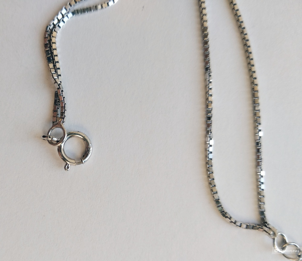 Браслет с подвеской, серебро 925, размер регулируемый