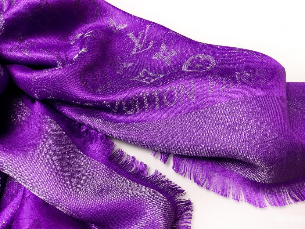 Шаль/платок Louis Vuitton, violet, 140*140 см.