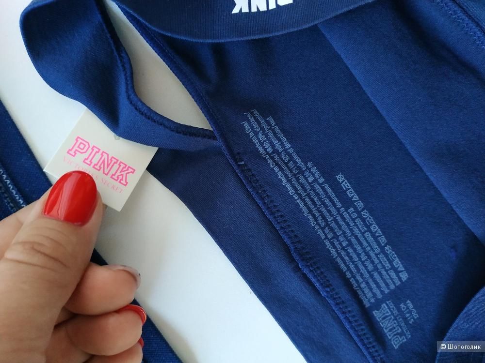 Бесшовный комплект  Pink: бра (разм.М) и трусики (разм.S) от Victoria's Secret