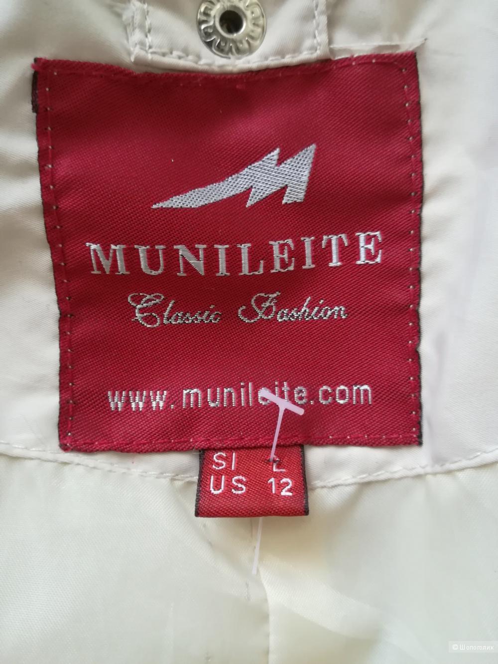 Пуховик Munileite, размер М/L