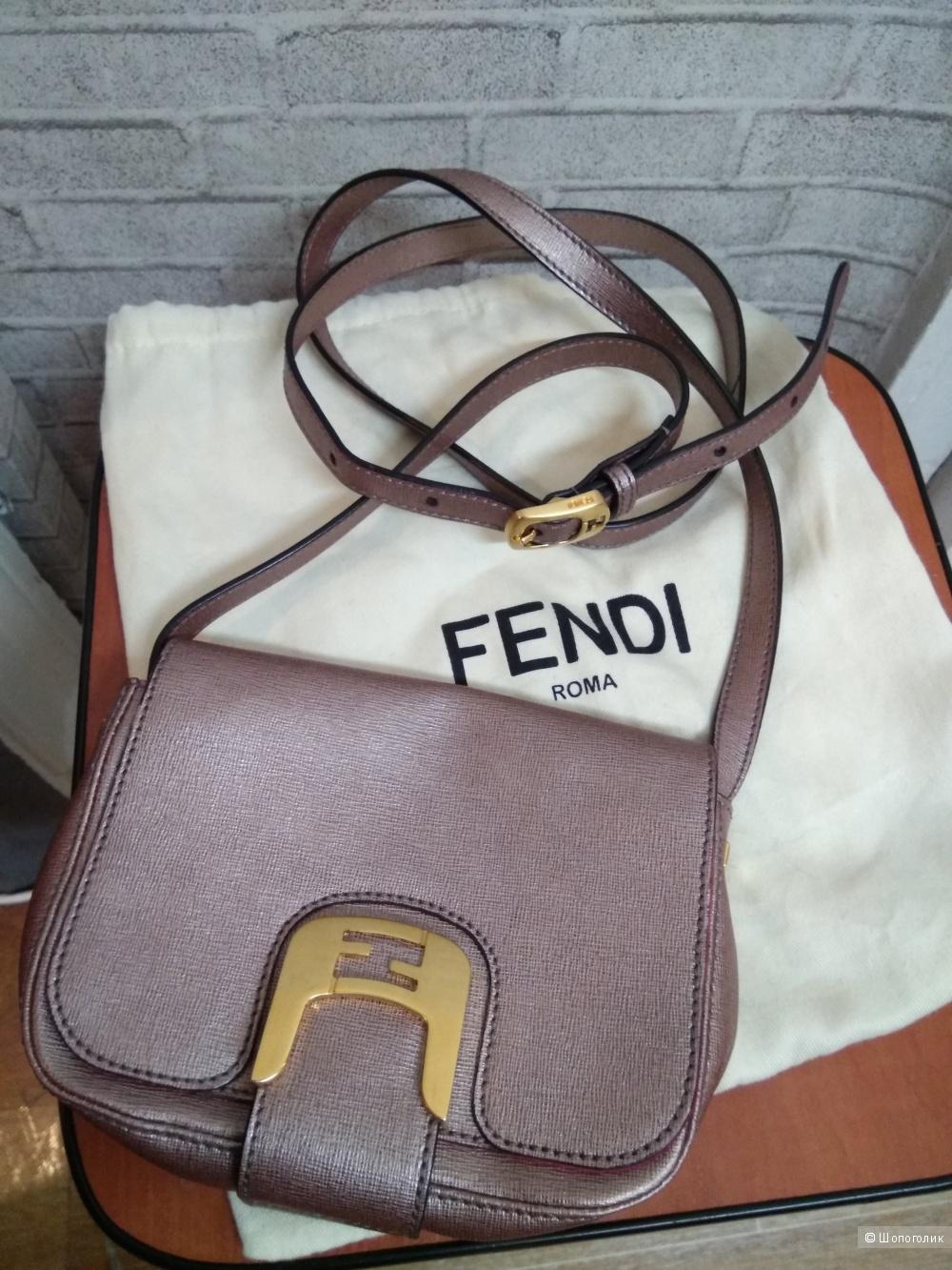 Сумочка FENDI Roma мини