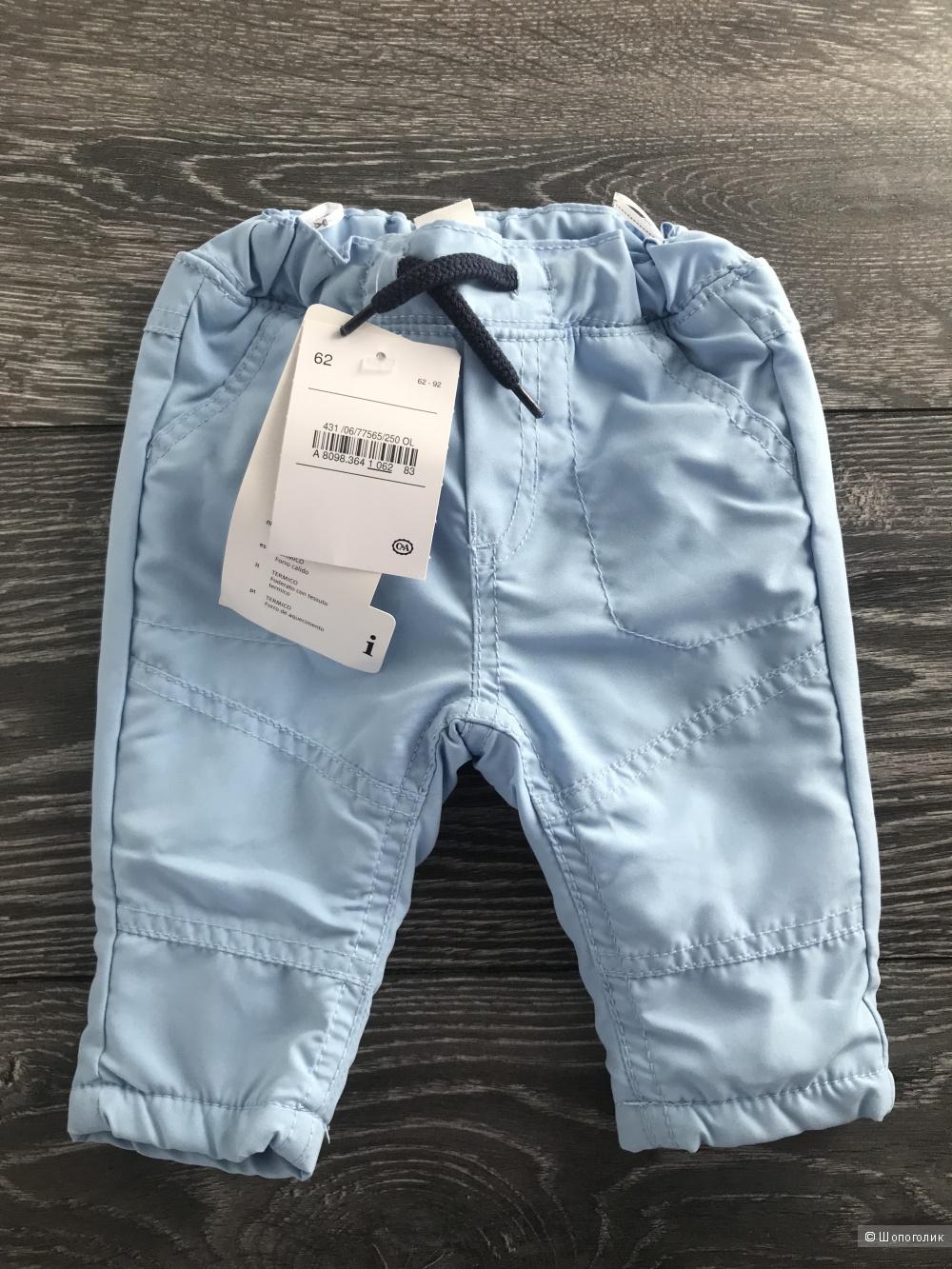 Тёплые штаны для мальчика c&a 62р